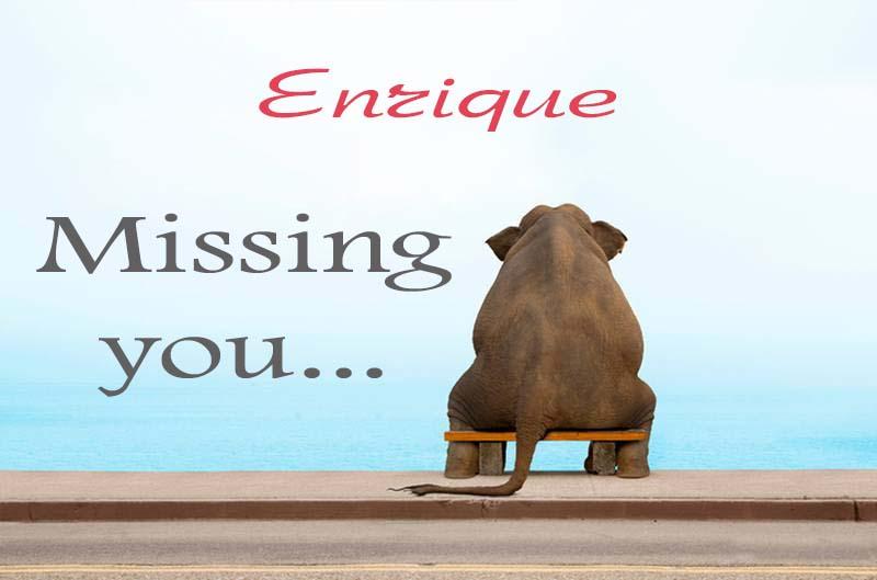 Cards Enrique Missing you