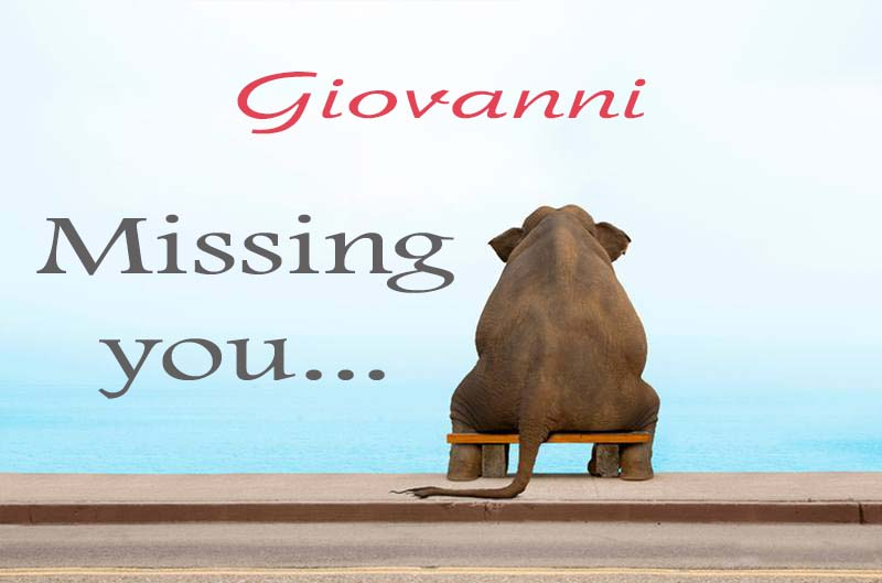 Cards Giovanni Missing you