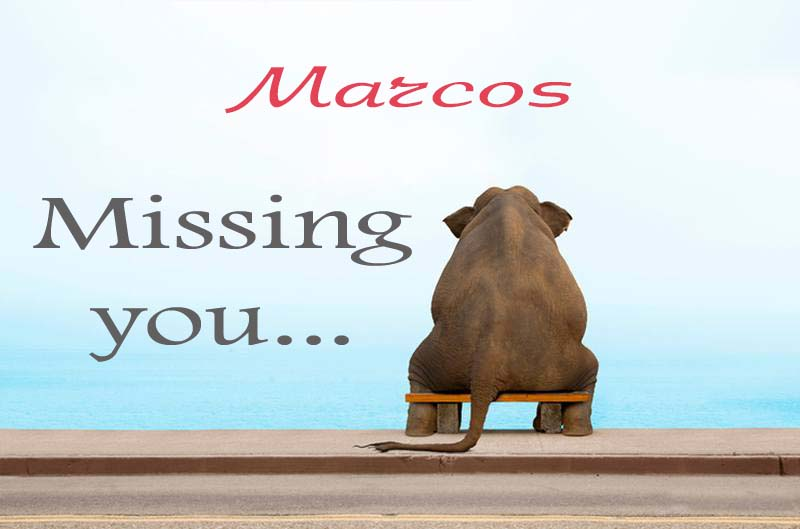 Cards Marcos Missing you