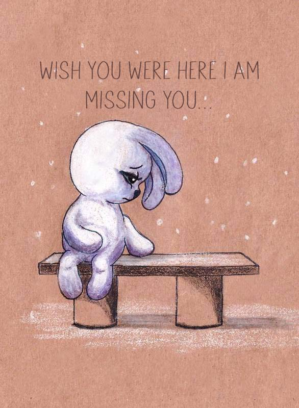 Ecards Truth is I miss you... All the time every second every minute...