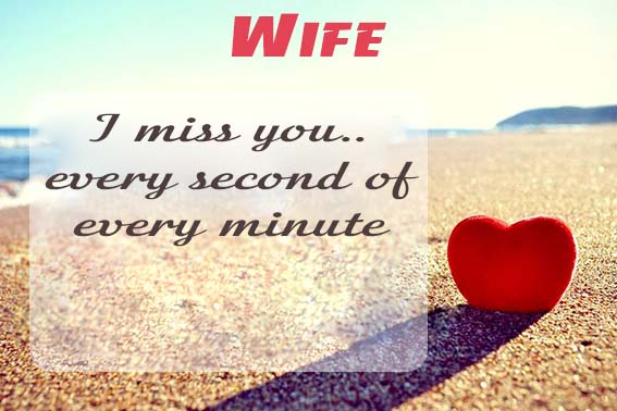 Cards Wife I will miss you every day