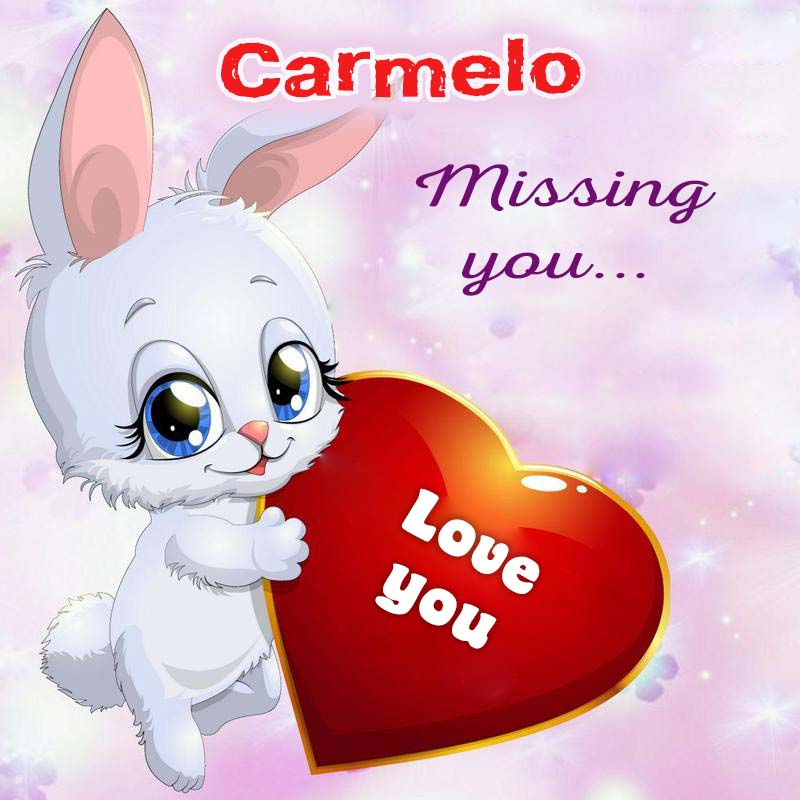 Cards Carmelo Missing you