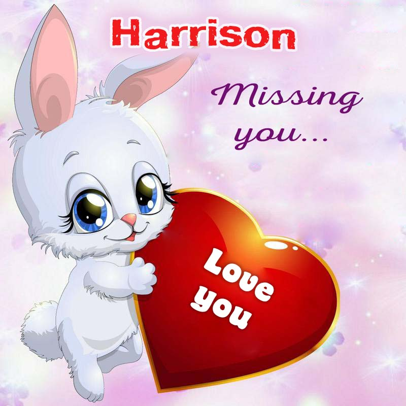Cards Harrison Missing you
