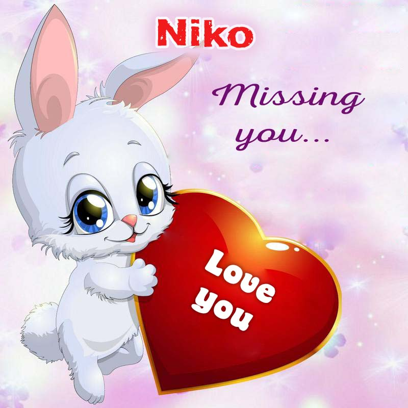 Cards Niko Missing you