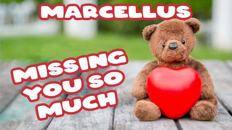 Ecards Marcellus Missing you already