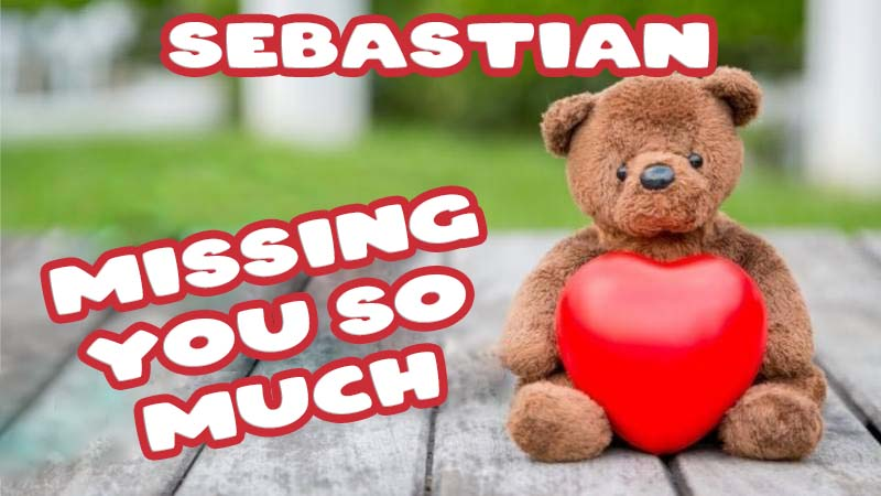 Ecards Sebastian Missing you already