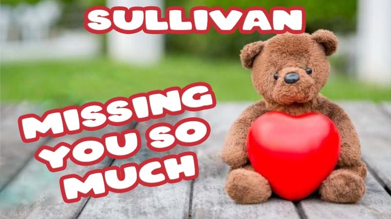 Ecards Sullivan Missing you already