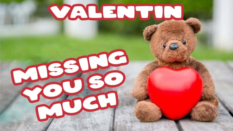 Ecards Valentin Missing you already