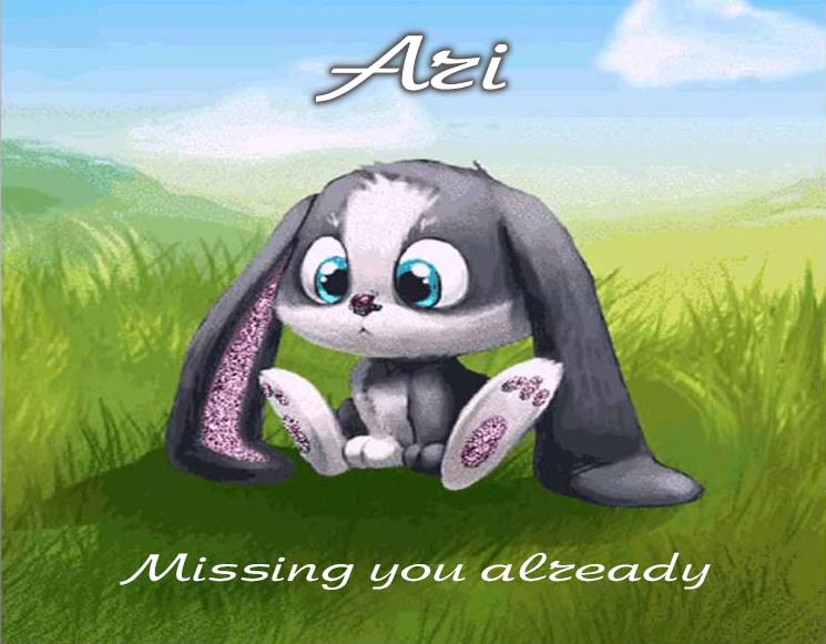 Cards Ari I am missing you every hour, every minute