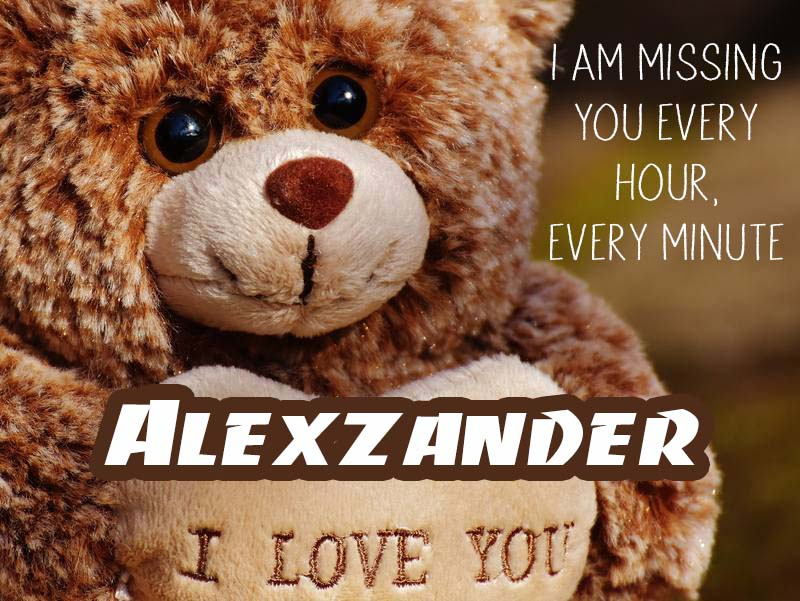 Cards Alexzander I will miss you every day