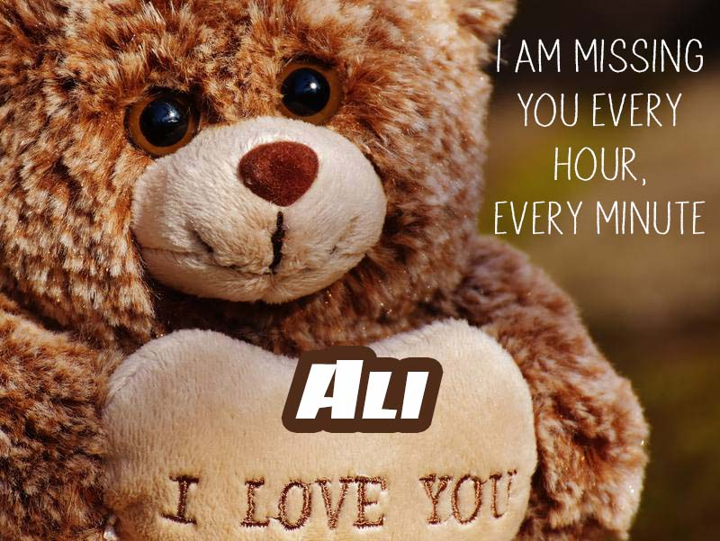 Cards Ali I will miss you every day