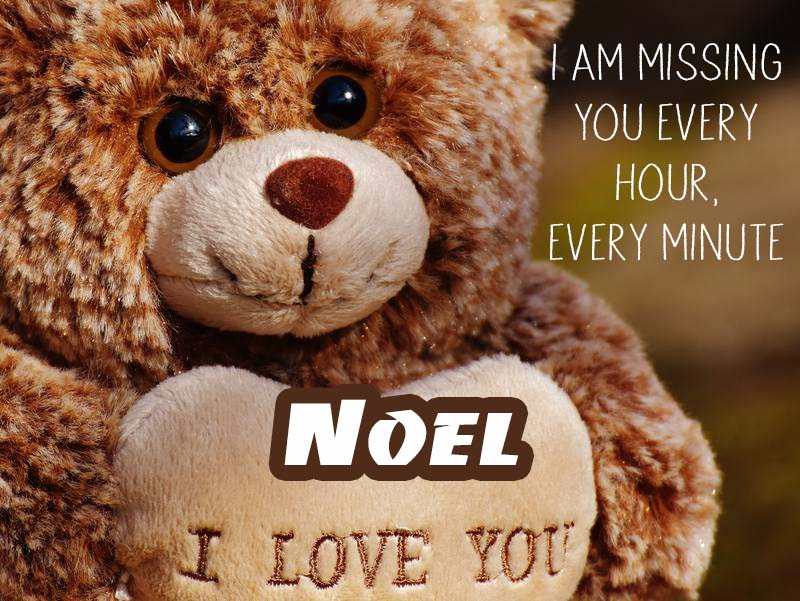 Cards Noel I will miss you every day