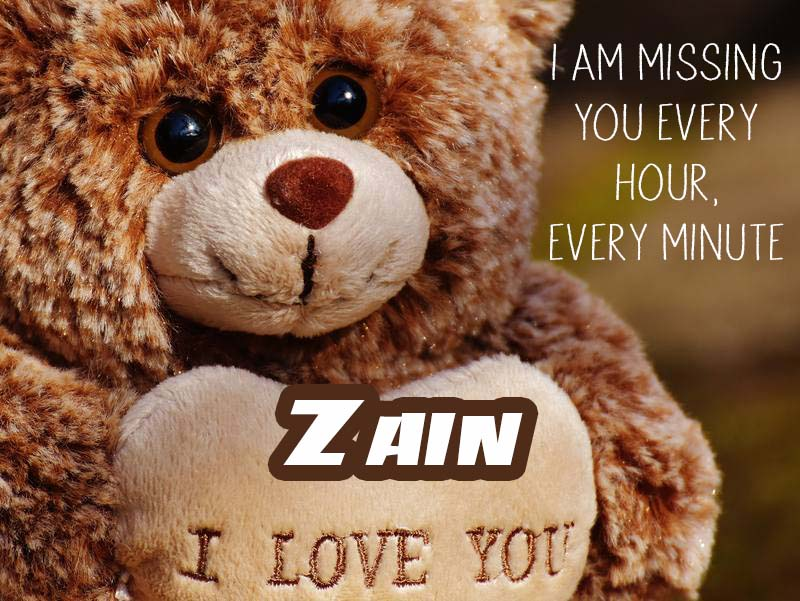 Cards Zain I will miss you every day