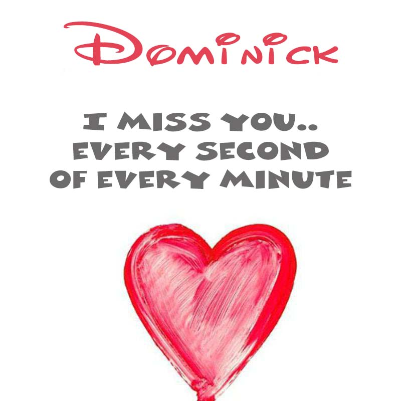 Cards Dominick You're on my mind
