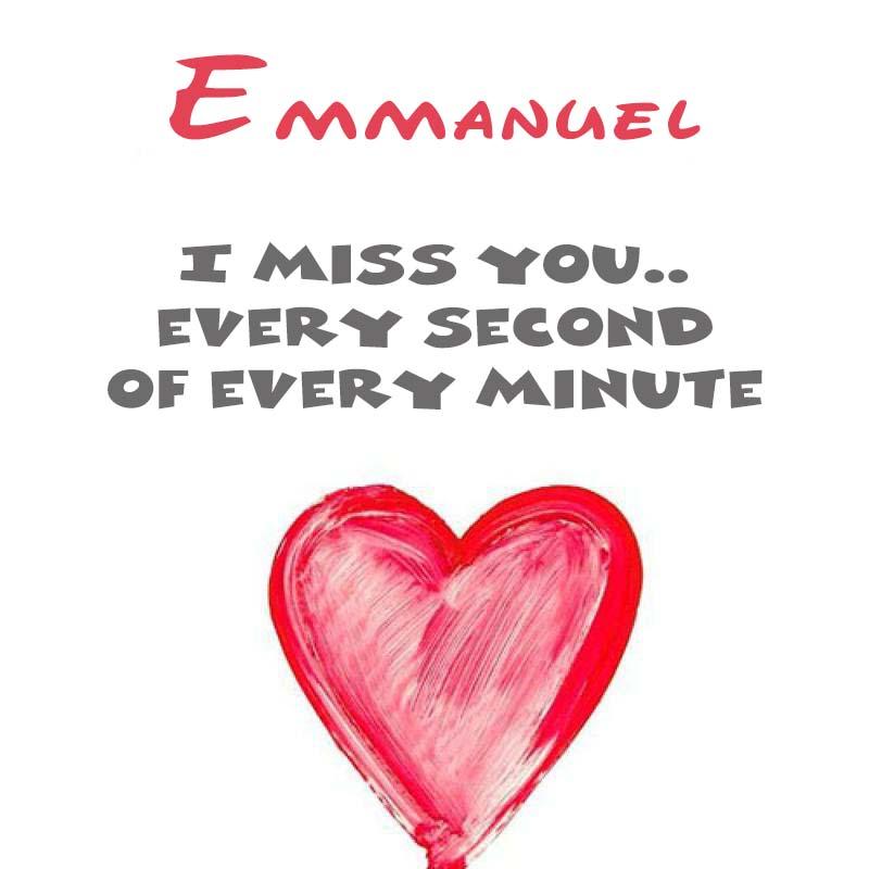 Cards Emmanuel You're on my mind