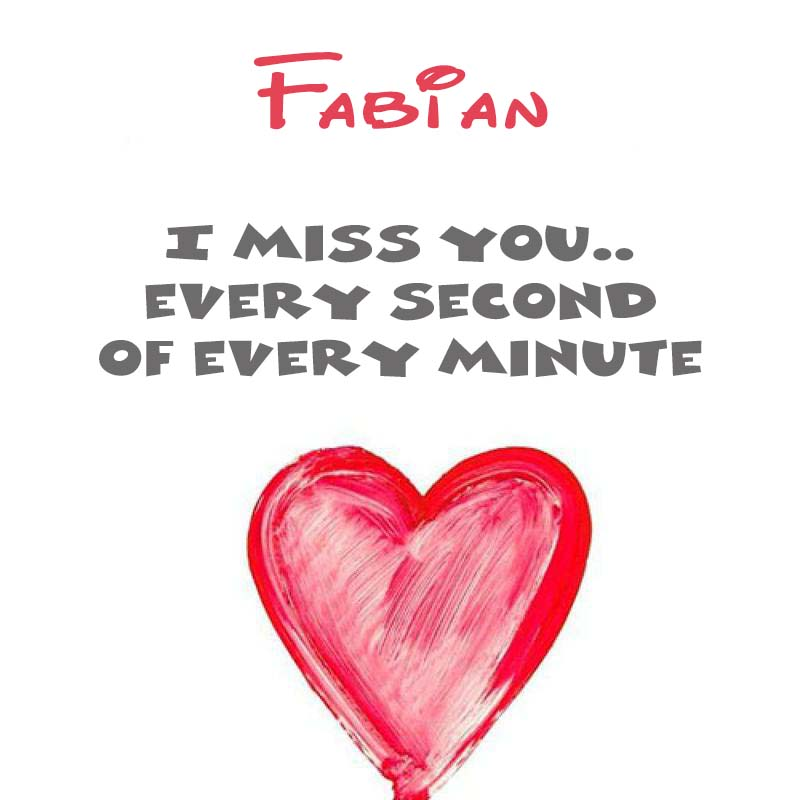 Cards Fabian You're on my mind