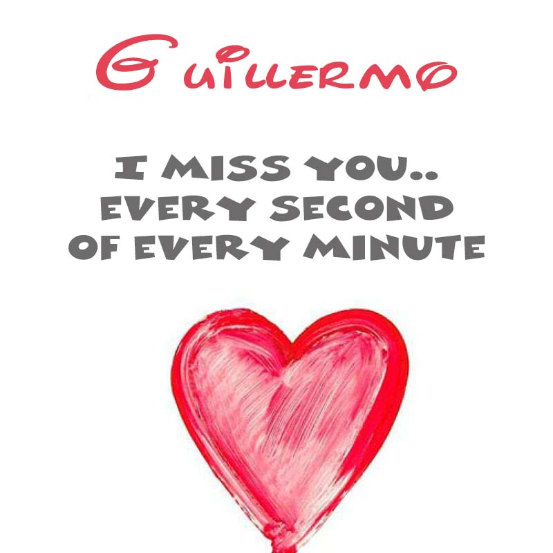 Cards Guillermo You're on my mind