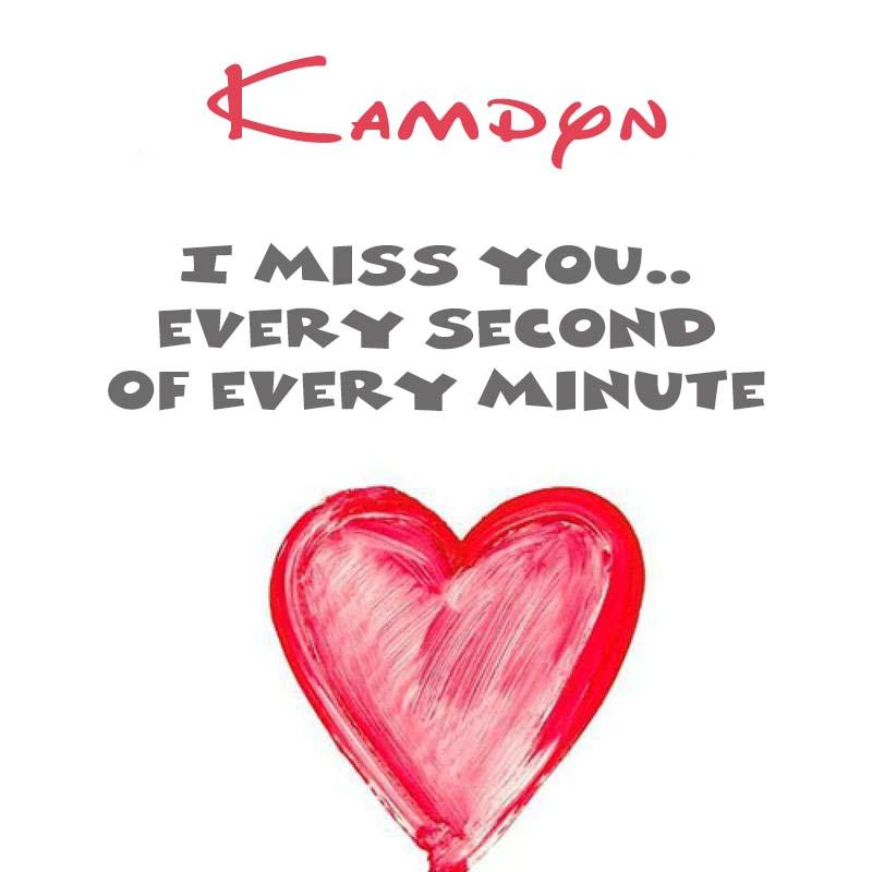 Cards Kamdyn You're on my mind