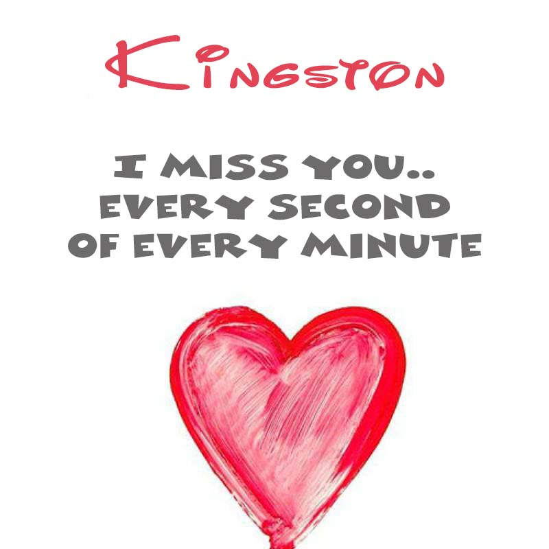 Cards Kingston You're on my mind