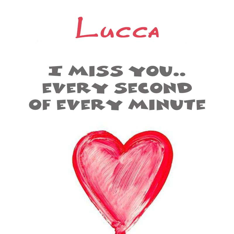Cards Lucca You're on my mind