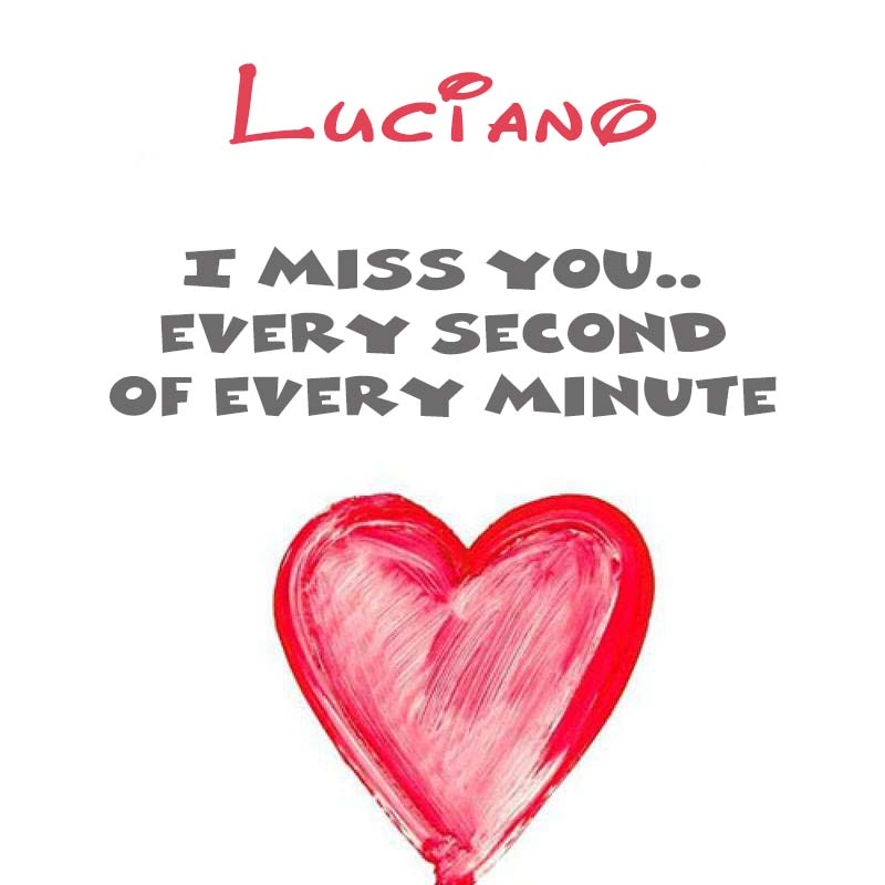 Cards Luciano You're on my mind