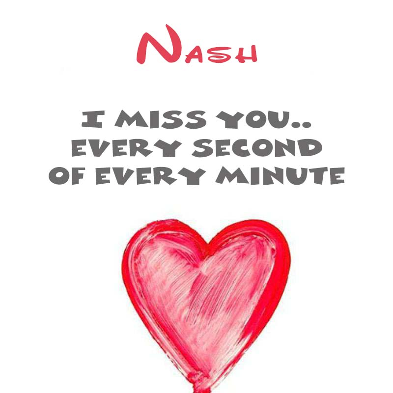 Cards Nash You're on my mind