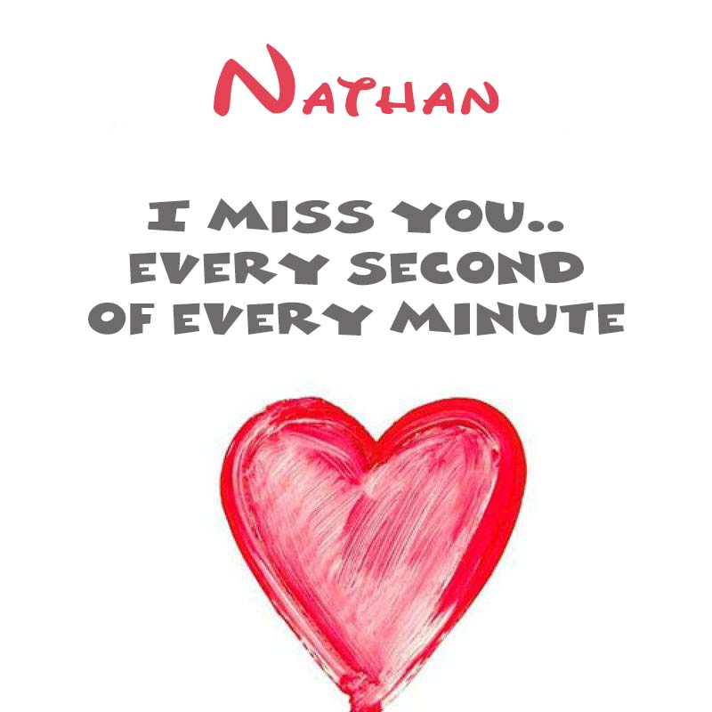 Cards Nathan You're on my mind
