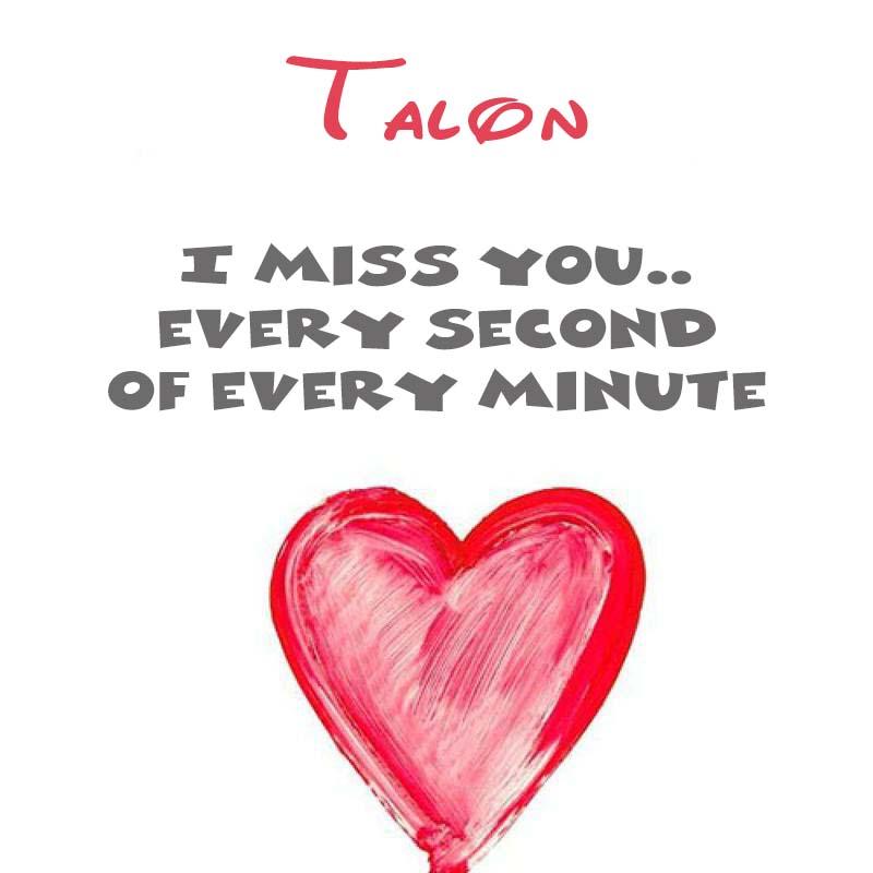 Cards Talon You're on my mind