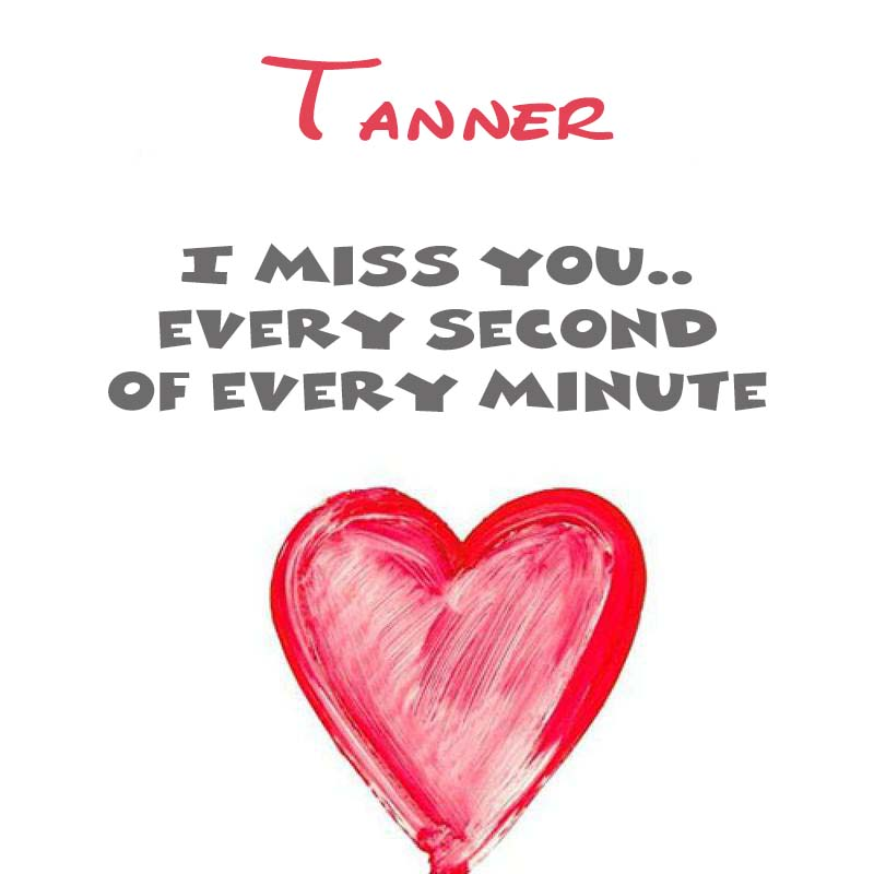 Cards Tanner You're on my mind