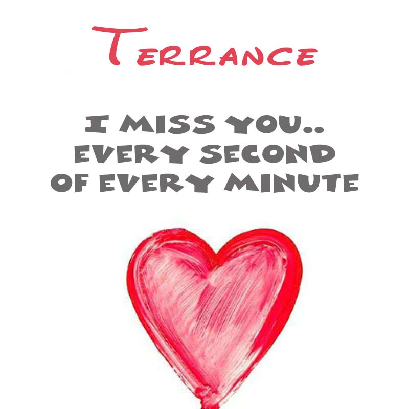 Cards Terrance You're on my mind