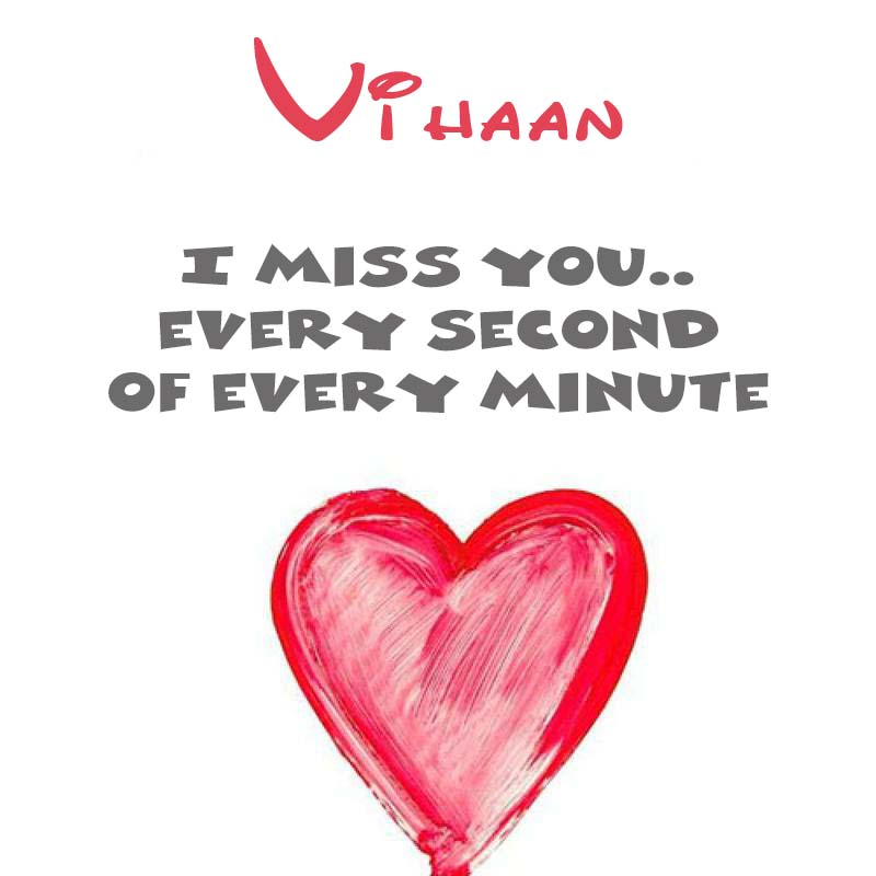Cards Vihaan You're on my mind