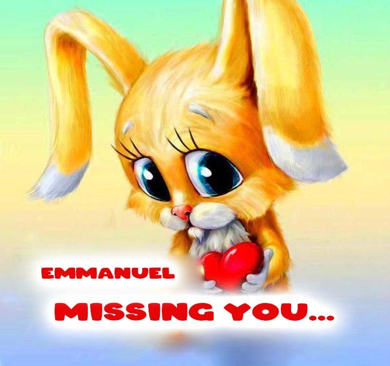 Cards Emmanuel Missing you